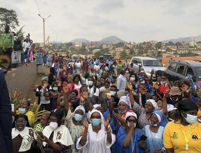 Cameroon bishop's anniversary Mass disrupted by gunfire