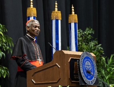 Cardinal Turkson urges graduates to impact troubled world