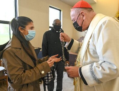 Cardinal Dolan at rosary tells India's COVID-19 victims they're not 'alone'