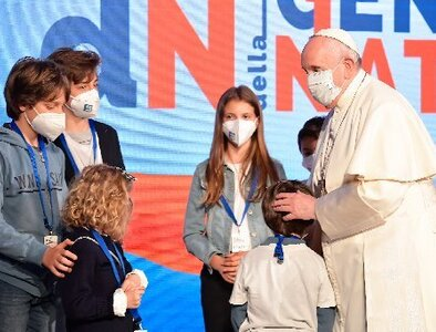 Pope: Myth that only money, success matter is 'gangrene' for nation