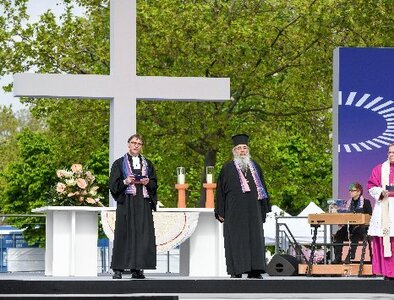 Germany's ecumenical assembly ends, but one bishop questions its benefits