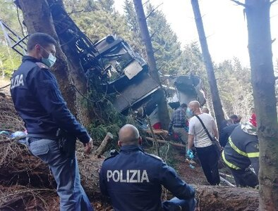 Pope sends condolences for deadly cable car disaster in Italy