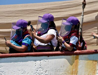 Indigenous Mexican Zapatistas launch symbolic invasion of Spain