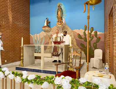 Capilla de Guadalupe is restored by the faith of the people