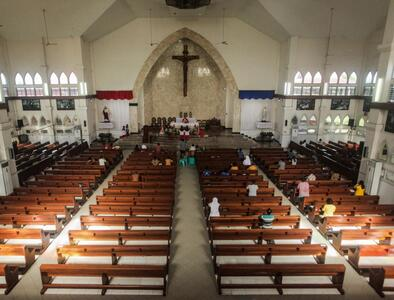 Indonesian police arrest man for allegedly raping girl inside church