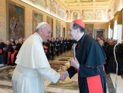 Pope orders visitation of clergy congregation before prefect retires