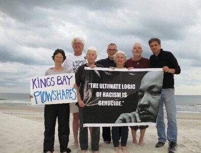 Kings Bay Plowshares activists keep focus on continuing witness for peace