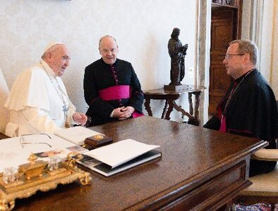 Bishop: Pope wants German Catholics to discuss issues openly, honestly