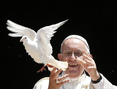 'No more war': Pope continues his teaching on Gospel nonviolence