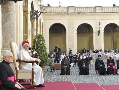 God's grace transforms sinners into apostles, pope says