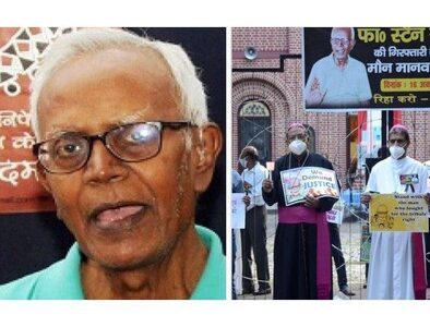 Father Stan Swamy tests positive for Covid-19