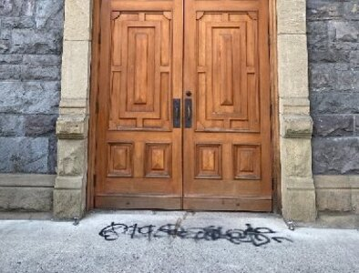 Fires, graffiti, red paint are among ways Portland churches vandalized