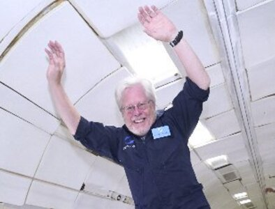 A clergy first: Milwaukee deacon gets to experience zero-g at 35,000 feet