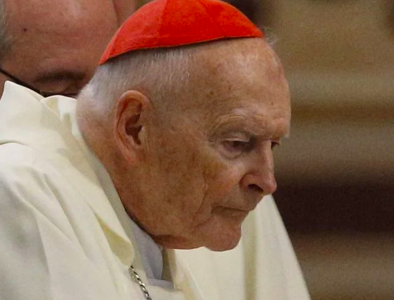 Ex-cardinal Theodore McCarrick criminally charged with abusing a 16-year-old