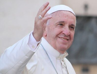 Pope Francis thanks everyone for