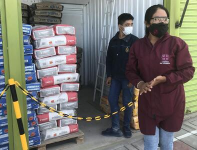 Food, protective gear, treatment, vaccines: Church fights COVID-19