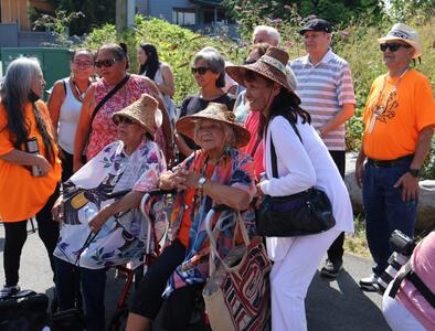 First Nations, Catholics work at North Vancouver residential school site