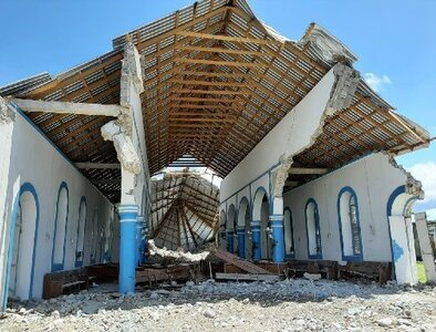 Priest killed, one missing as church assesses damage from Haiti quake