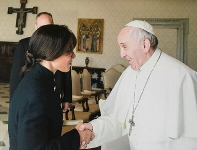 Laywoman assumes high position at Vatican's Latin America commission