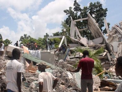 Haiti searches for victims of devastating earthquake
