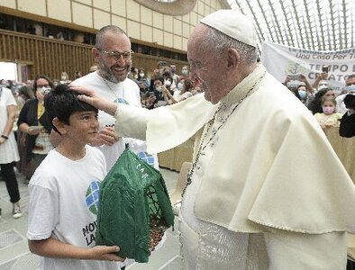 Holiness does not come from following rigid rules, pope says