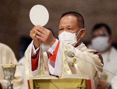 Philippine cardinal in quarantine after testing positive for COVID-19