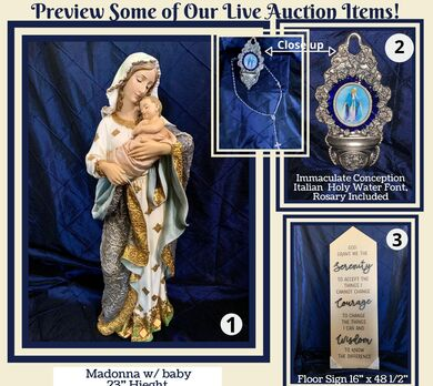 Immaculate Conception Parish 2nd Annual Live Auction