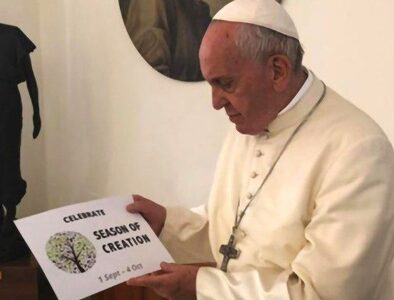 Pope Francis encourages participation in 2021 Season of Creation