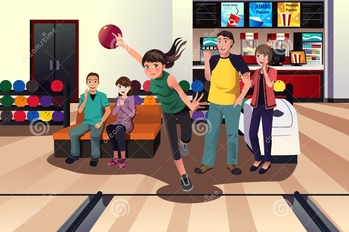 Youth Group Teen Bowling