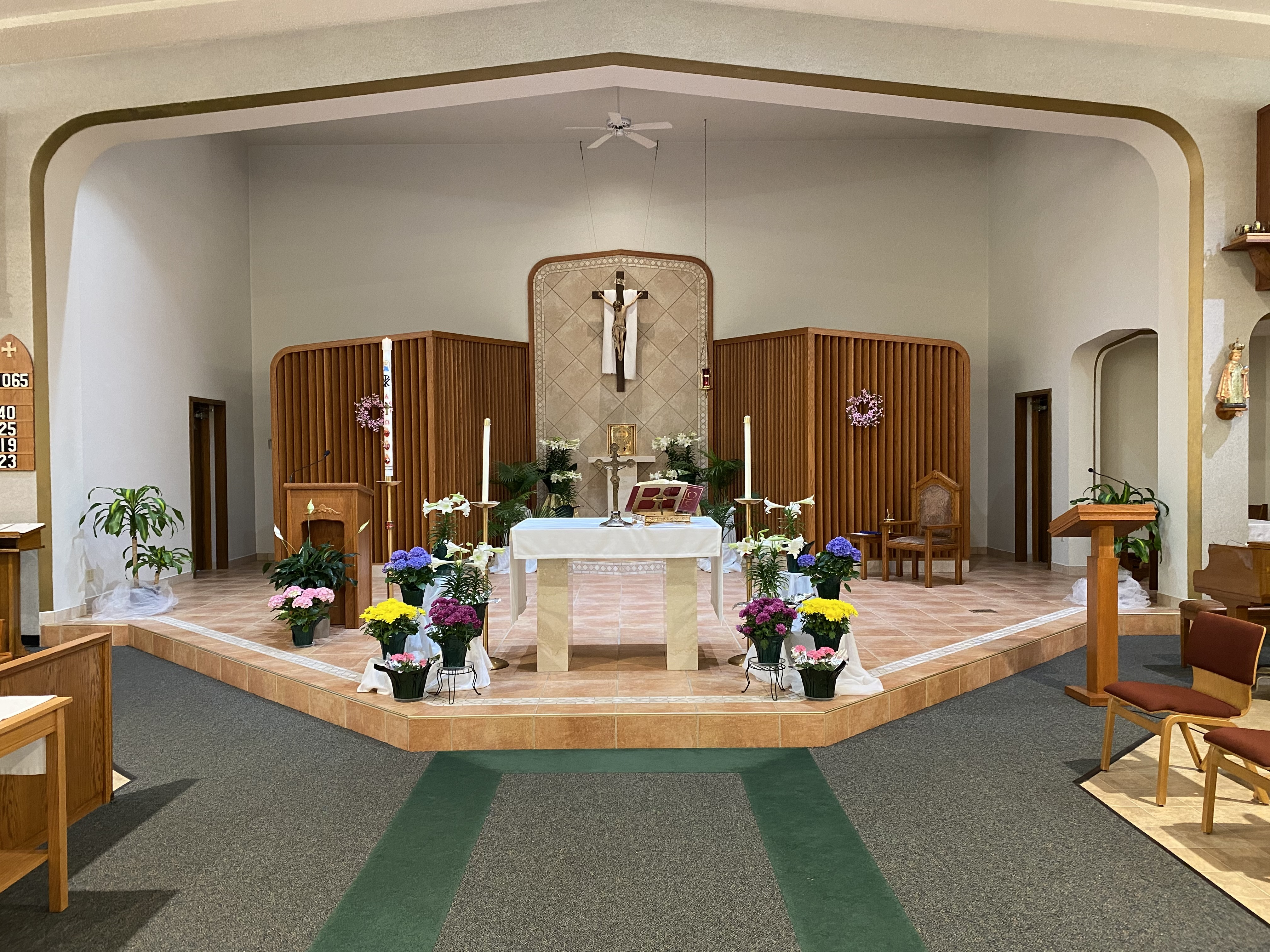 COVID Restrictions Lifted immediately and Dispensation from attending Mass ended June 11.Welcome back!