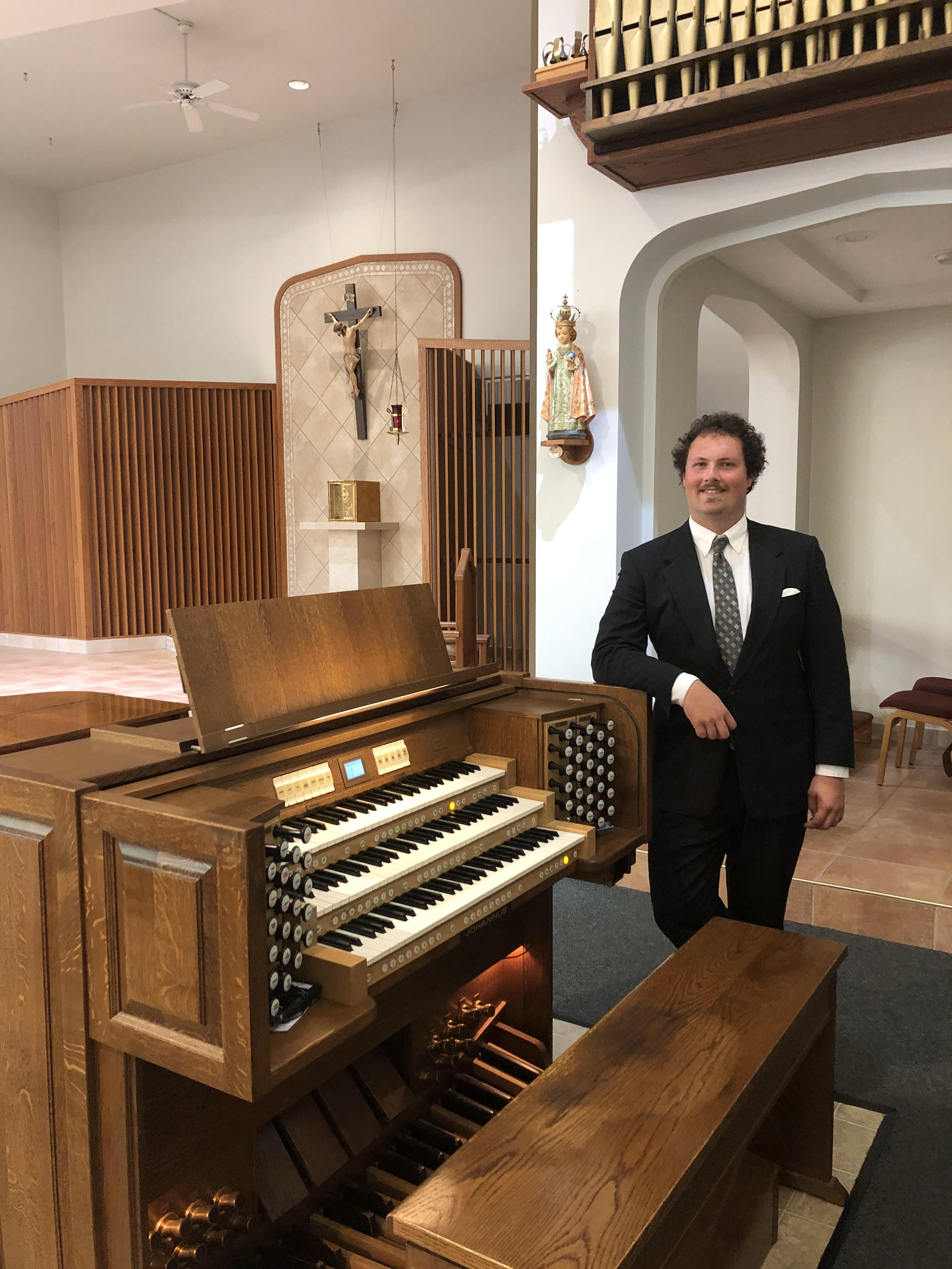 Welcome to our new Director of Music and Liturgy, Alex Nist!