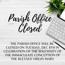 Parish Office: Immaculate Conception
