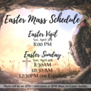 Easter Sunday Masses