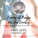 Evening of Prayer for Our Country