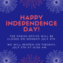 4th of July Office Hours