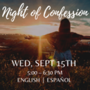 Archdiocesan Night of Confession