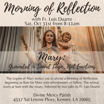 Morning of Reflection with Fr. Luis
