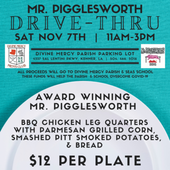 Mr. Pigglesworth Drive-Thru Fundraiser