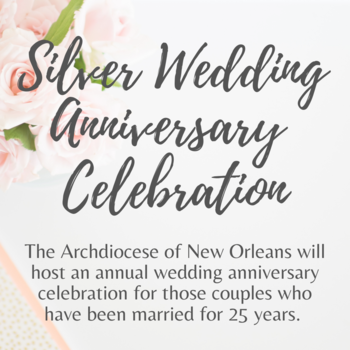 Silver Wedding Anniversary Celebration