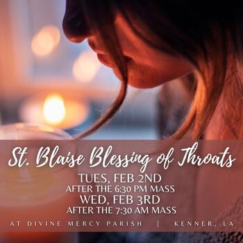 Blessing of Throats