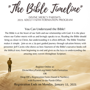 2021 Adult Faith Formation Course