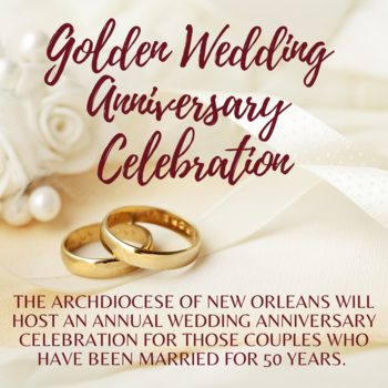 Golden Wedding Anniversary Celebration
