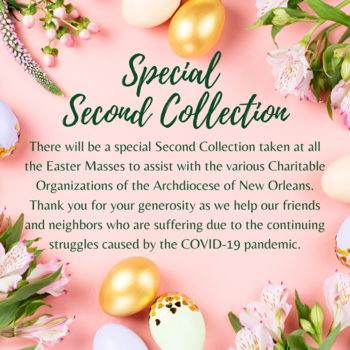 Easter Second Collection