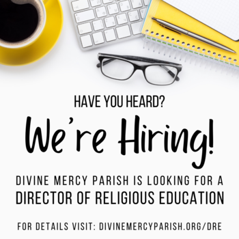 We're Hiring: Director of Religious Education