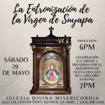 The Enthronement of the Virgin of Suyapa