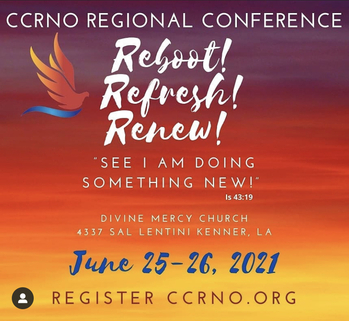Reboot, Refresh, Renew- CCRNO Conference 2021