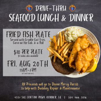 Back To School Seafood Lunch & Dinner