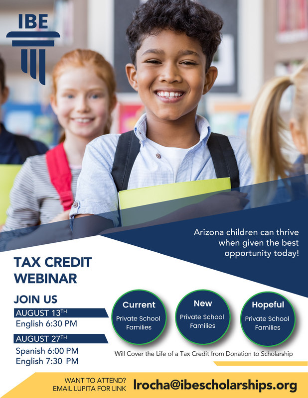 IBE Tax Credit Webinar English