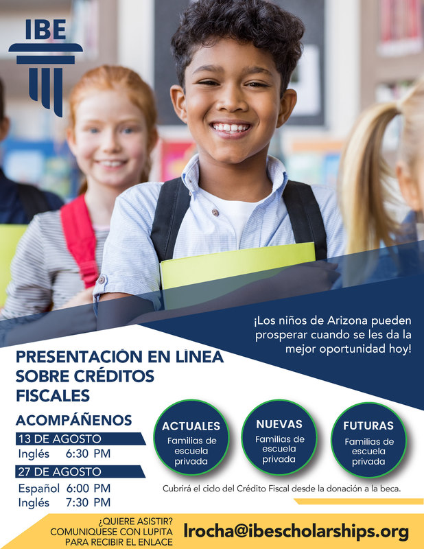 IBE Tax Credit Webinar Spanish