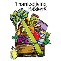 Thanksgiving Baskets Planning